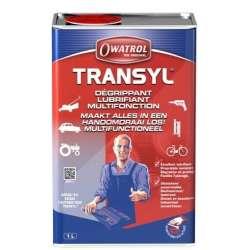 OWATROL TRANSYL - multifunkční mazací olej s aplikační teplotou od -30°C až +50°C